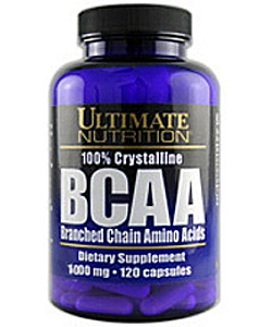 Ultimate Nutrition BCAA 1000 (120 капсул, 60 порций)