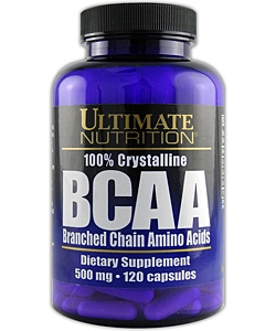 Ultimate Nutrition BCAA 500 (120 капсул, 40 порций)