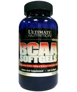 Ultimate Nutrition BCAA Softgels (180 капсул, 180 порций)