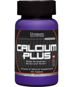 Ultimate Nutrition Calcium Plus (45 таблеток, 45 порций)