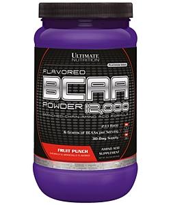 Ultimate Nutrition Flavored BCAA 12.000 (457 грамм, 60 порций)