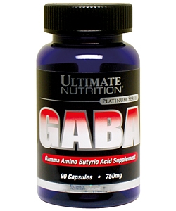 Ultimate Nutrition GABA (90 капсул)