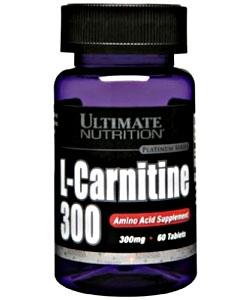 Ultimate Nutrition L-Carnitine 300 mg (60 таблеток)
