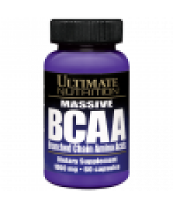 Ultimate Nutrition Massive BCAA (60 капсул, 30 порций)