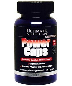Ultimate Nutrition Power Caps (90 капсул, 90 порций)