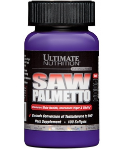 Ultimate Nutrition Saw Palmetto (100 капсул, 100 порций)