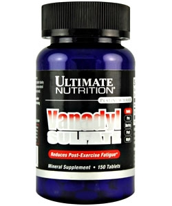 Ultimate Nutrition Vanadyl Sulfate (150 таблеток)