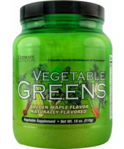 Ultimate Nutrition Vegetable Greens (510 грамм, 64 порции)