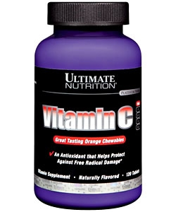Ultimate Nutrition Vitamin C (120 таблеток)