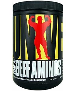 Universal Nutrition 100% Beef Aminos (400 таблеток, 200 порций)