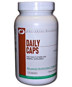 Universal Nutrition Daily Caps (75 капсул)