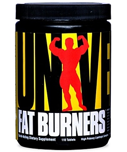Universal Nutrition Fat Burners E/S (55 таблеток)