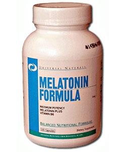Universal Nutrition Melatonin Formula (60 капсул)