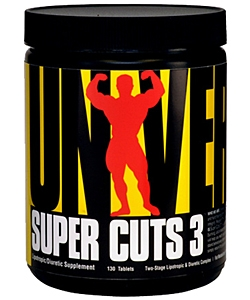 Universal Nutrition Super Cuts 3 (130 таблеток)