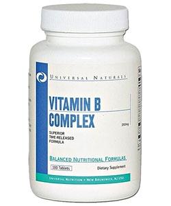 Universal Nutrition Vitamin B-Complex (100 таблеток)