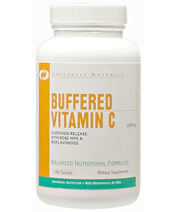Universal Nutrition Buffered Vitamin C 1000 mg (100 таблеток)