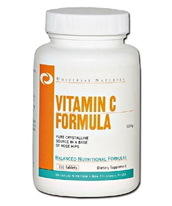 Universal Nutrition Vitamin C Formula (100 таблеток)