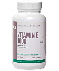 Universal Nutrition Vitamin E 1000 (50 капсул)