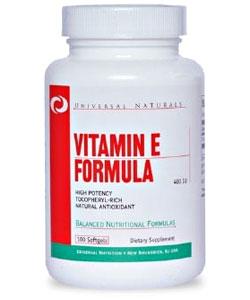 Universal Nutrition Vitamin E Formula (100 капсул)