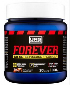 UNS Forever Tactic Preworkout (300 грамм, 30 порций)