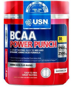 USN BCAA Power Punch (400 грамм, 30 порций)