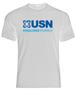 USN White T-Shirt