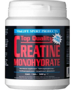 VitaLIFE Top Quality Creatine Monohydrate (300 грамм, 60 порций)