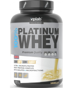 VP Laboratory 100% Platinum Whey (2300 грамм)