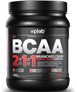 VP Laboratory BCAA 2:1:1 (500 грамм, 62 порции)