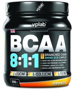 VP Laboratory BCAA 8:1:1 (300 грамм, 30 порций)