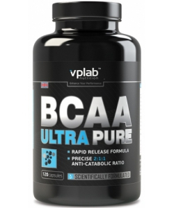 VP Laboratory BCAA Ultra Pure (120 капсул, 30 порций)