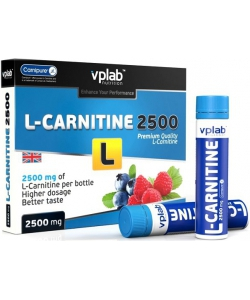 VP Laboratory L-Carnitine 2500 mg 7x25 ml (175 мл)