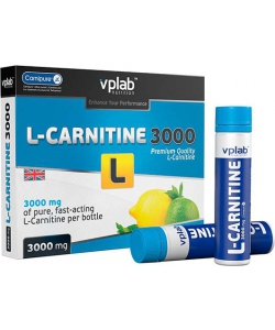 VP Laboratory L-Carnitine 3000 mg 7x25 ml (175 мл, 7 порций)