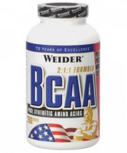 Weider BCAA (260 таблеток, 26 порций)
