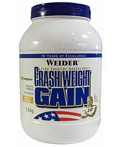Weider Crash Weight Gain (1500 грамм)