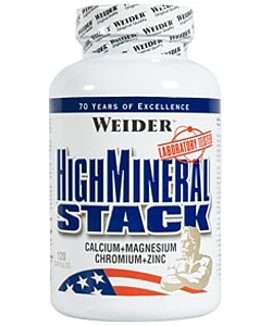 Weider High Mineral Stack (120 капсул)