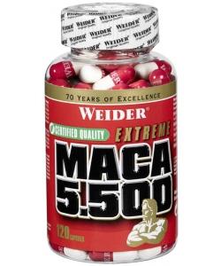 Weider Maca 5.500 (120 капсул, 24 порции)