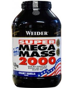 Weider Mega Mass 2000 (4500 грамм, 50 порций)