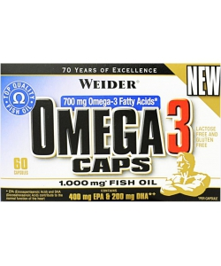 Weider Omega 3 (60 капсул)