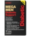GNC MEGA MEN DIABETIC Support (90 капсул, 45 порций)