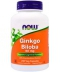 NOW Foods Ginkgo Biloba 60 mg (240 капсул, 240 порций)