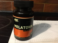 Optimum Nutrition Melatonin (100 таблеток) фото 811
